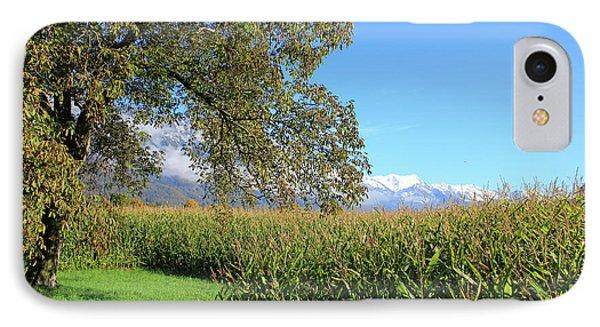 Autumn In Swiss Mountain Landscape IPhone Case