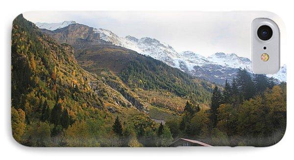Autumn In The Lauterbrunnen Valley, Switzerland IPhone Case