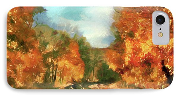 Autumn Maples IPhone Case