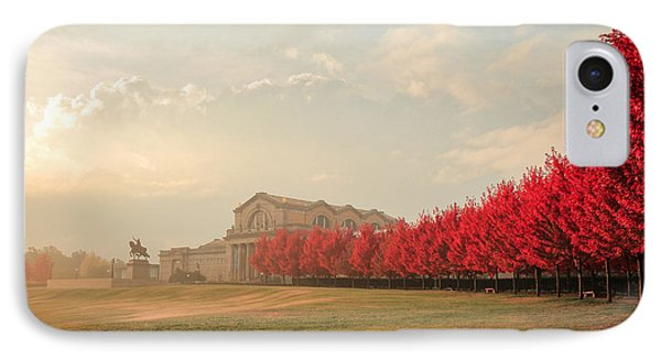Autumn On Art Hill IPhone Case