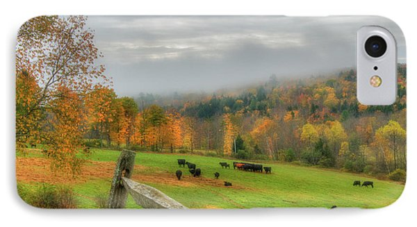 IPhone Case featuring the photograph Autumn Pasture -  by Joann Vitali