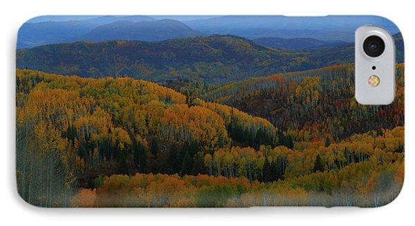 Autumn Sunrise At Rainbow Ridge Colorado IPhone Case