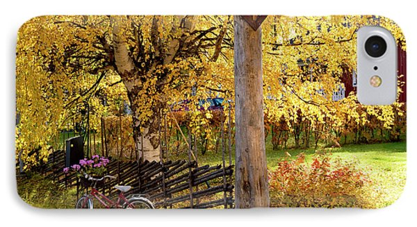 Rural Rustic Autumn IPhone Case