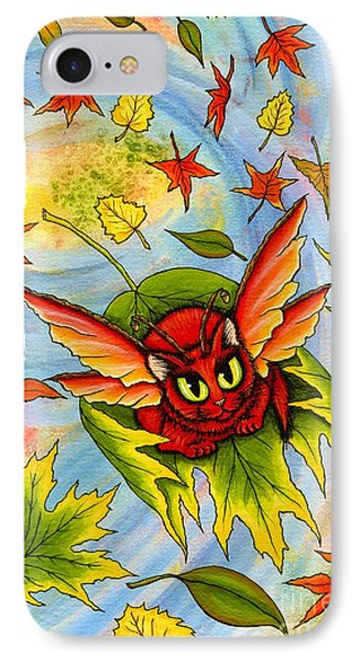 Autumn Winds Fairy Cat IPhone Case