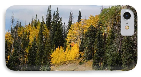 Autumnal Forest-dixie National Forest Utah IPhone Case