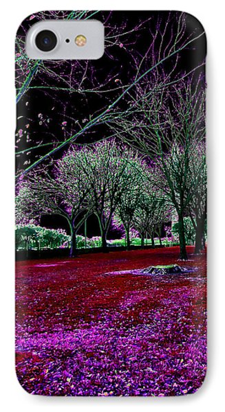 Autumnal Reversography IPhone Case