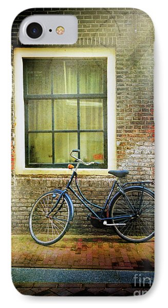 IPhone Case featuring the photograph Avancer Bicycle by Craig J Satterlee