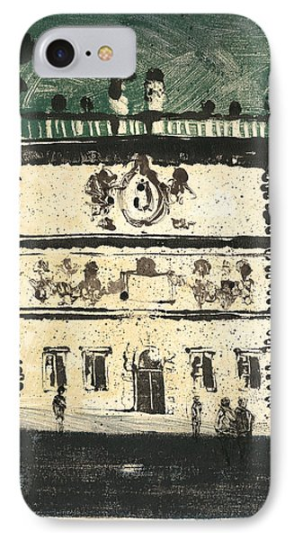 Avignon Historic Building IPhone Case