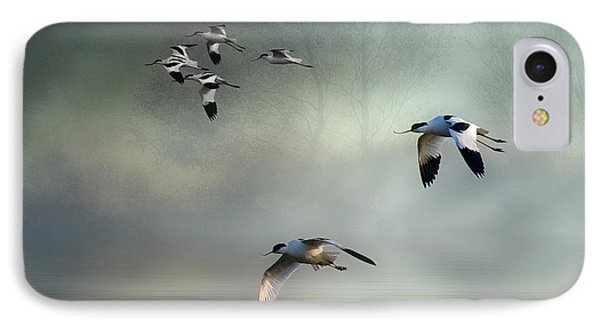Avocet Dawn IPhone Case