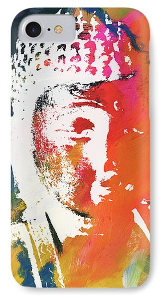 Awakened Buddha 5- Art By Linda Woods IPhone Case