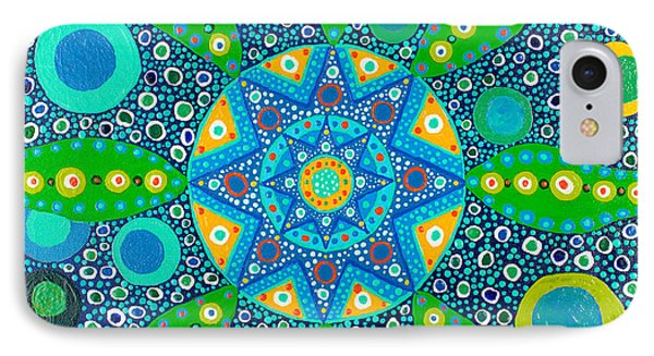 Ayahuasca Vision - Inside The Plant Cell  May 2015 IPhone Case