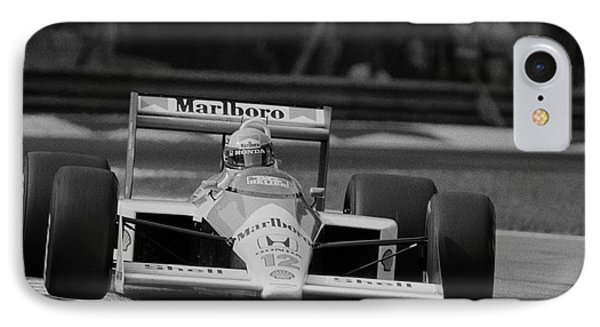 Ayrton Senna. 1988 Italian Grand Prix IPhone Case