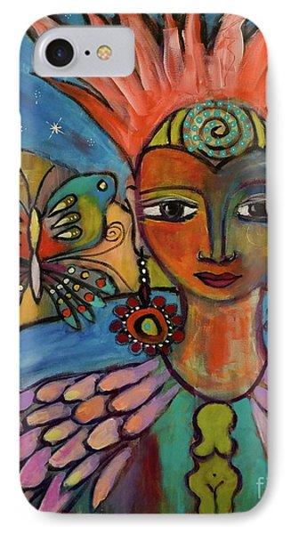 Aztec Princess IPhone Case