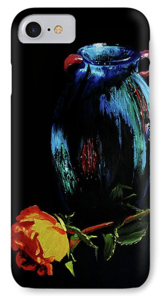 Azure Amphora Vase  IPhone Case