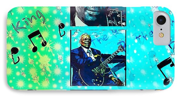 B B King Of The Blues  IPhone Case