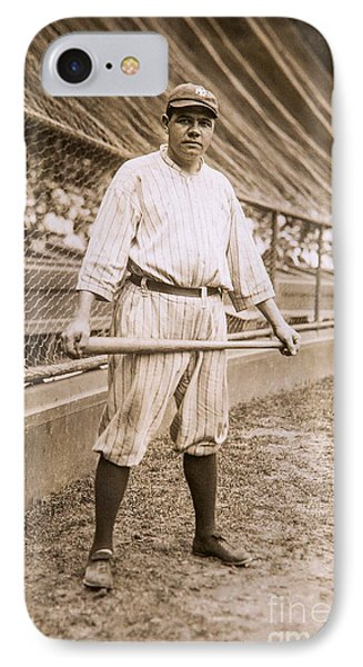 Babe Ruth On Deck IPhone Case