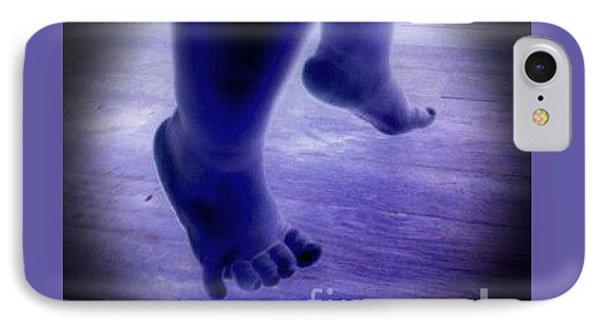 Baby Blu Dancing Royal Feet IPhone Case