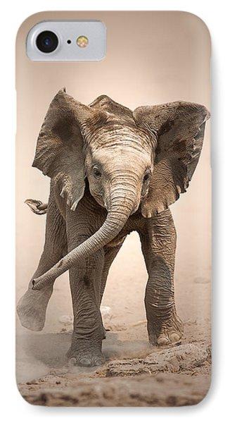 Baby Elephant Mock Charging IPhone Case