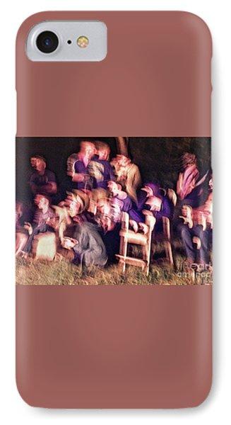 Bacchanalian Freak Show With Hieronymus Bosch Treatment IPhone Case