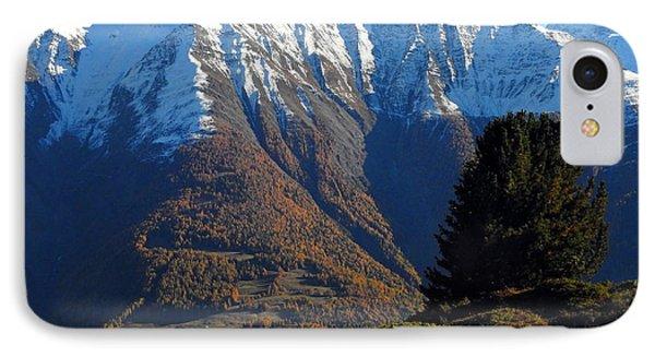 Baettlihorn In Valais, Switzerland IPhone Case