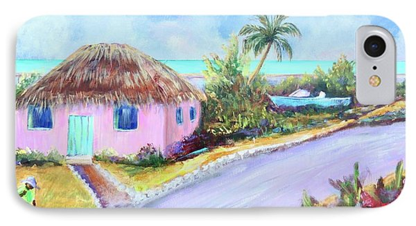 Bahamian Island Shack IPhone Case