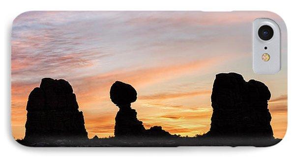 Balanced Rock At Sunrise IPhone Case