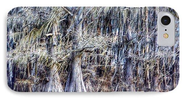 Bald Cypress In Caddo Lake IPhone Case