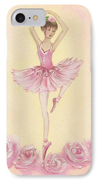Ballerina Beauty Painting IPhone Case