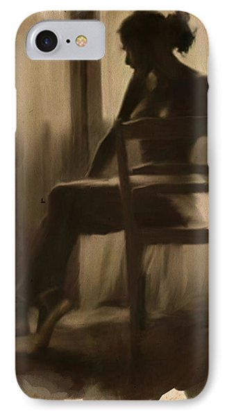 Ballerina By The Window IPhone Case