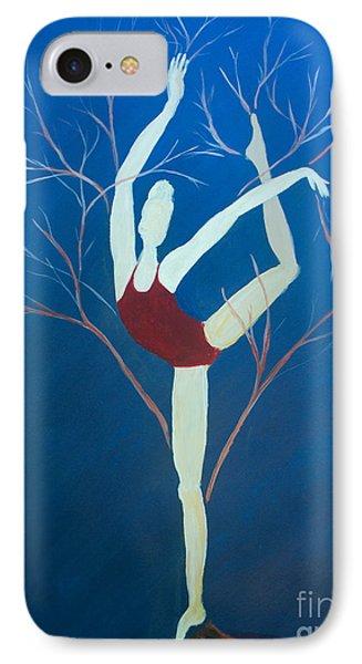 Ballerina Tree IPhone Case
