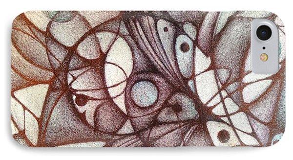 Ballpoint On Canvas  IPhone Case
