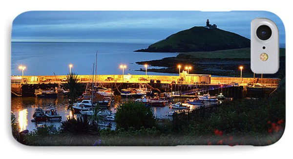 Ballycotton Ireland Marina Harbour And Lighthouse East County Cork IPhone Case