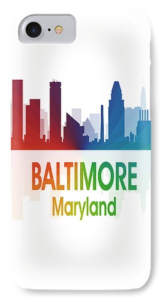 Baltimore Md 1 Vertical IPhone Case