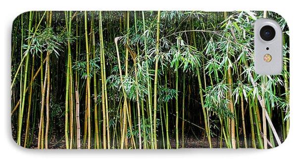 Bamboo Wind Chimes  Waimoku Falls Trail  Hana  Maui Hawaii IPhone Case