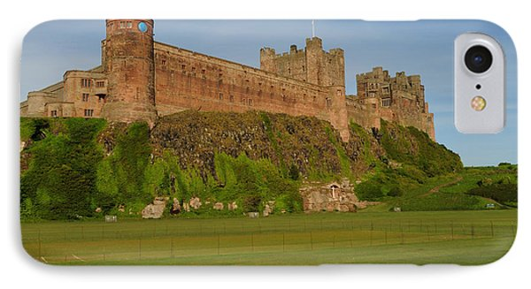 Castle iPhone 8 Case - Bamburgh Castle by Smart Aviation