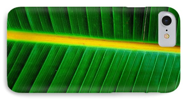 Banana Plant Leaf IPhone Case