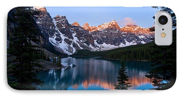 Banff - Moraine Lake Sunrise IPhone Case