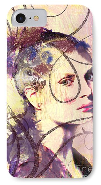 Barbara Blue IPhone Case