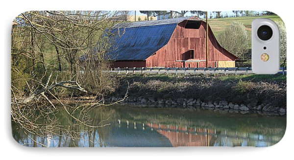 Barn And Reflections IPhone Case