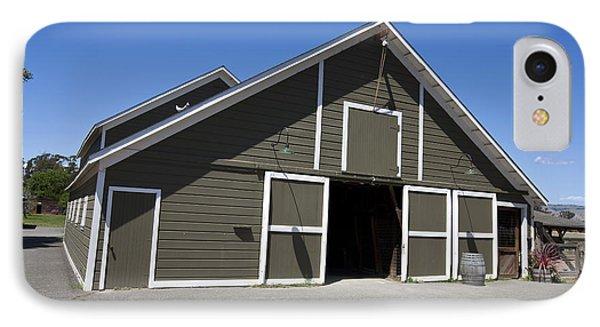 Barn At Ardenwood Historic Farm IPhone Case