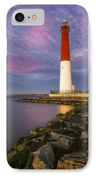 Barnegat Bay Lighthouse Sunset IPhone Case