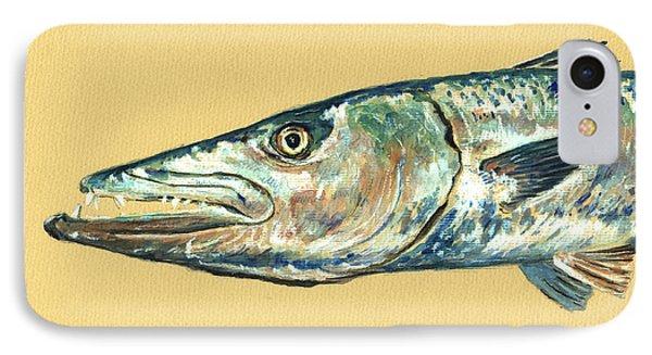 Barracuda Fish IPhone Case