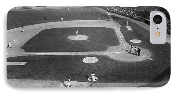 Baseball Game, 1967 IPhone Case