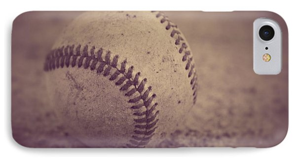 Baseball In Sepia IPhone Case