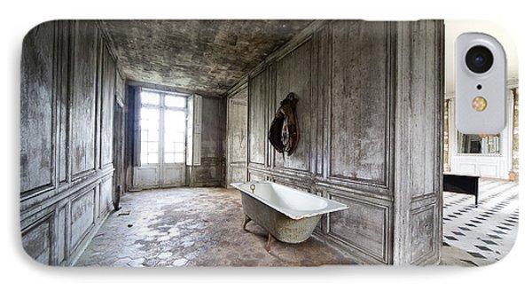 Bathroom Decay - Urban Exploration IPhone Case