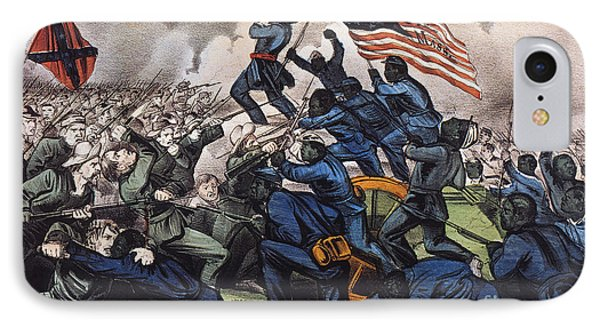 Battle Of Fort Wagner, 1863 IPhone Case
