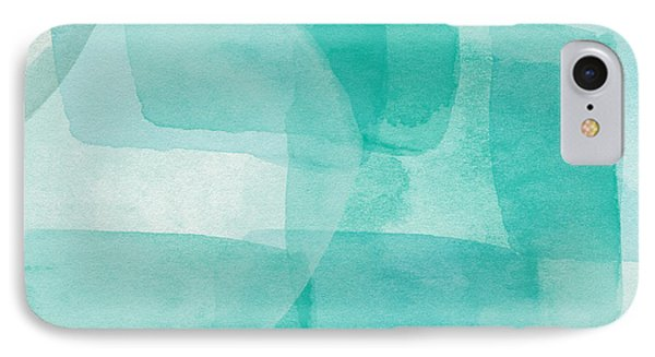 Beach Glass- Abstract Art By Linda Woods IPhone Case