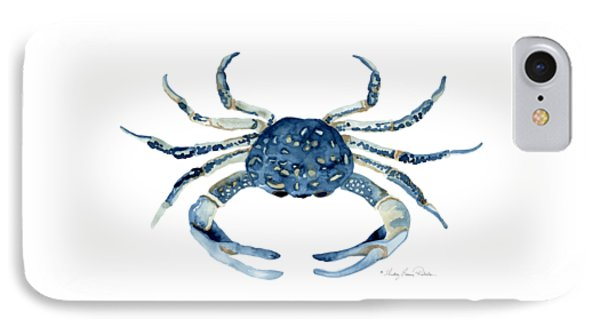 Beach House Sea Life Blue Crab IPhone Case