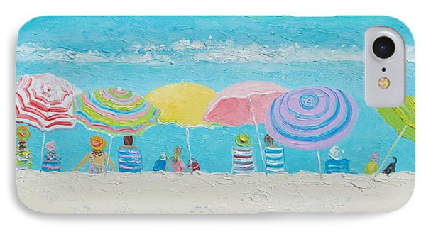 Beach Painting - Color Of Summer IPhone Case