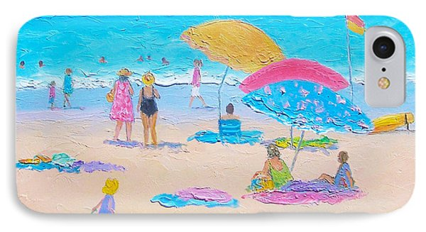 Beach Painting - Colors Of Summer  IPhone Case